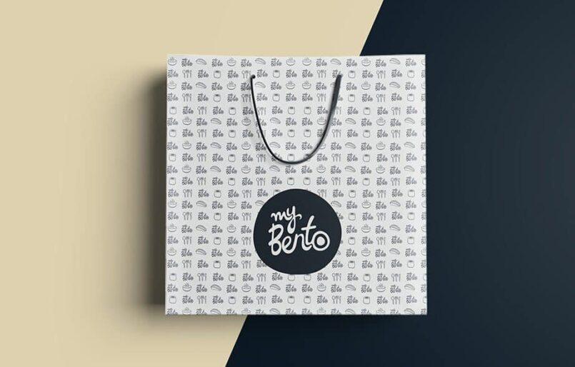 MyBento - Création de la marque, Brochures, Flyer, Packaging, Publicité par l'objet