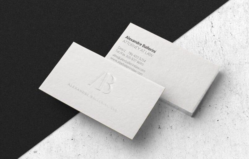 Alexandre Ballerini - Création de l'identité, Logotype, Webdesign et développemnet du site web Wordpress